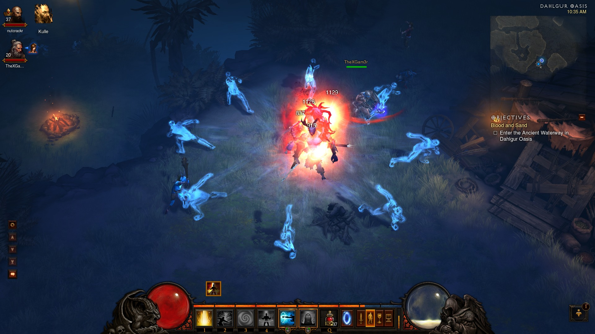 Diablo 3 skills for fighting multiple enemies