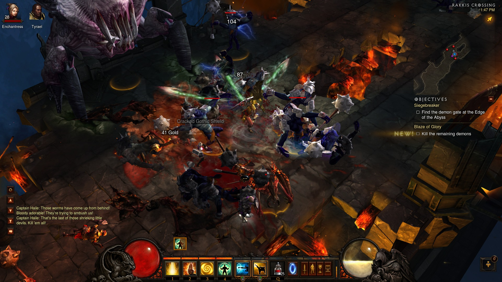 Diablo 3 multiple enemies