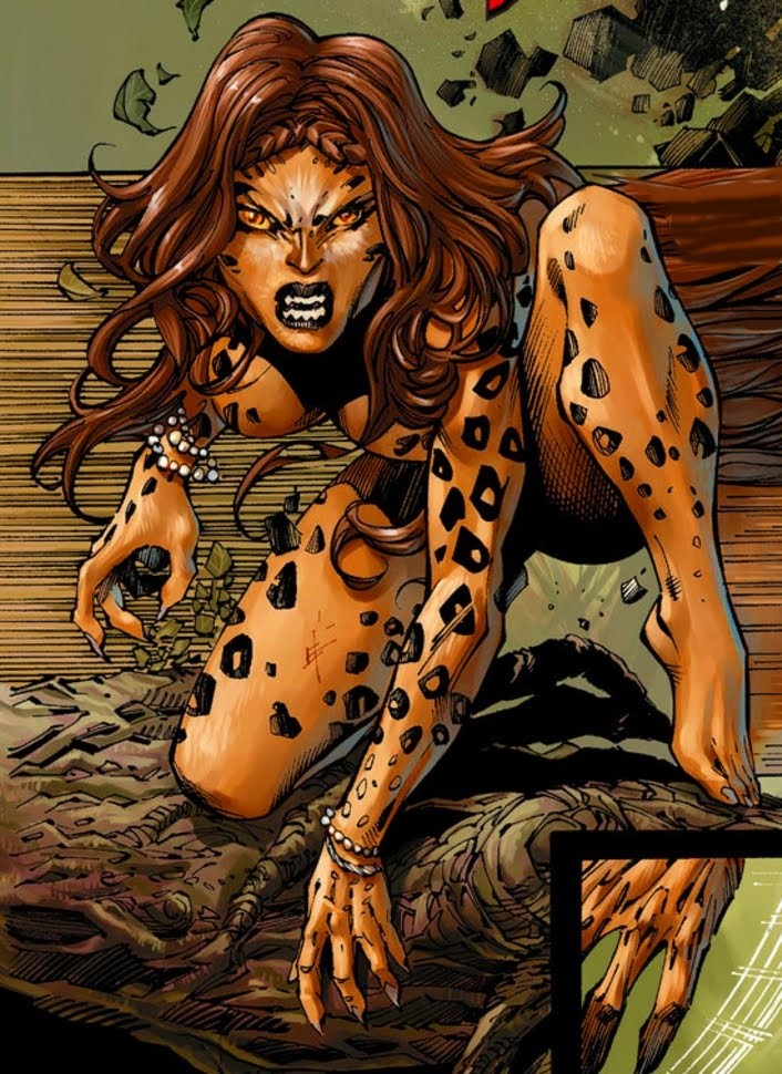 Cheetah, Wonder Woman