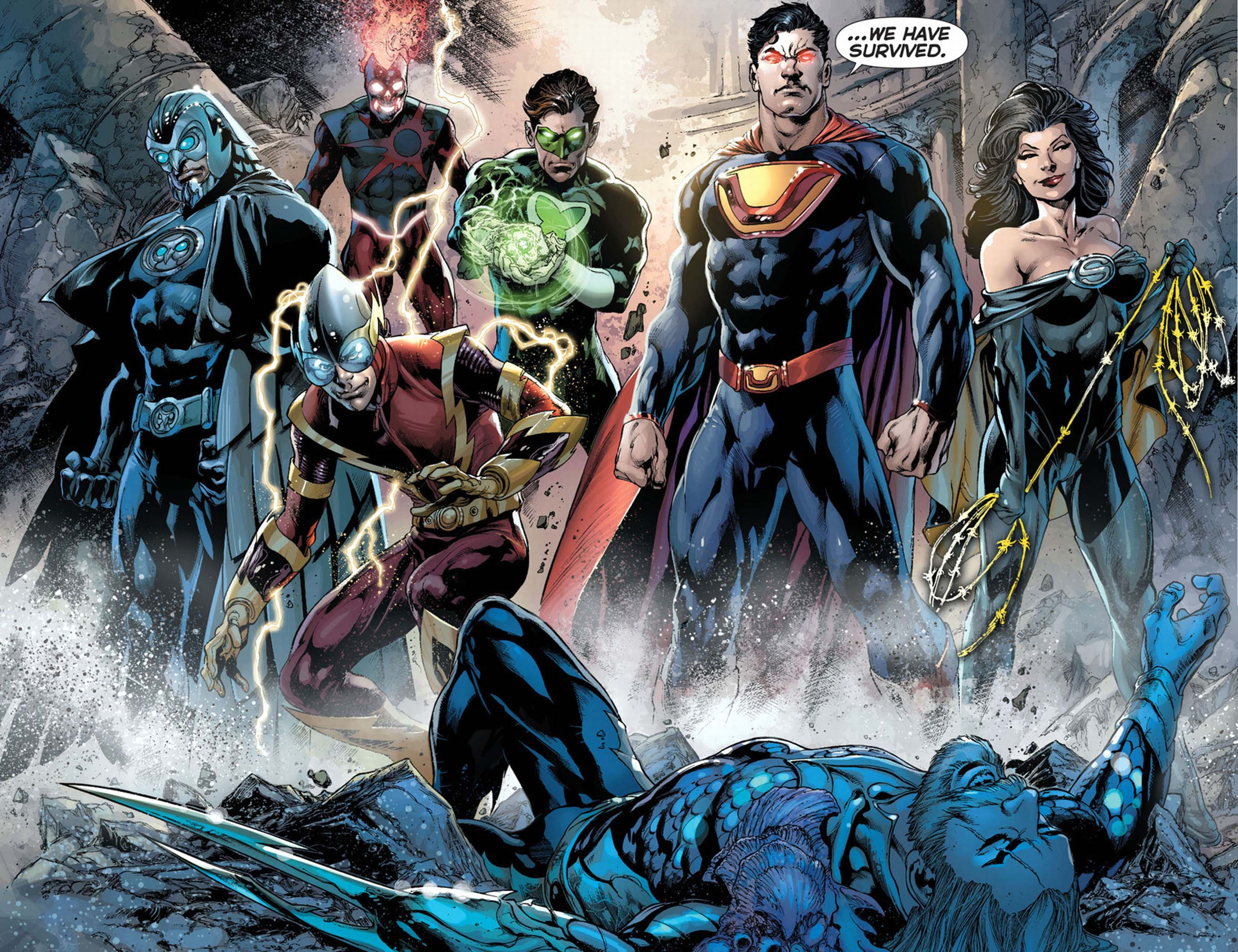 Crime Syndicate of America, Justice League