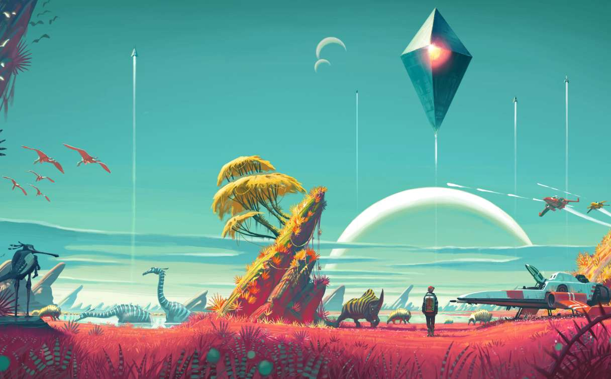 NMS, No Man's Sky, Open, Openworld, OpenUniverse, space, game