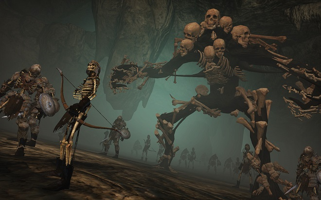 There's nothing like going up against a few skeletal minions to get the blood pumping.