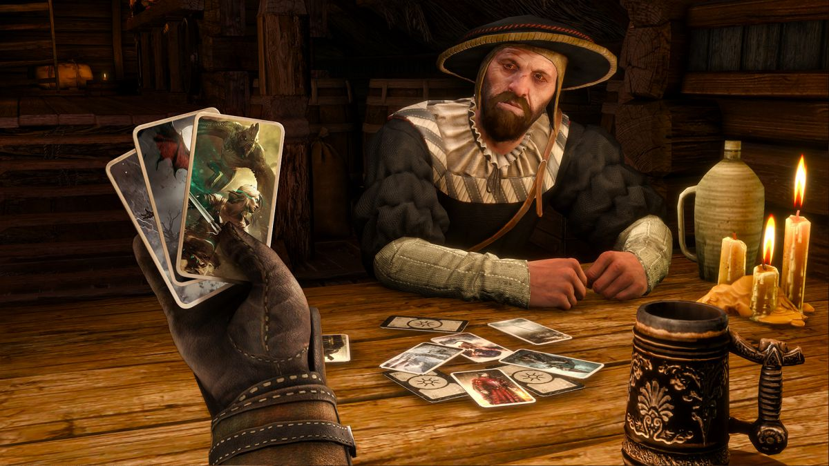 It's not as if The Witcher 3 is lacking in quality content that it needs to rely on Gwent for a last-ditch, emergency backup plan should players' eyes begin to glaze.