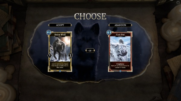 TES: Legends will sometimes allow players to make choices in Story Mode that determine the fate of defeated enemies as well as the cards won from beating them.