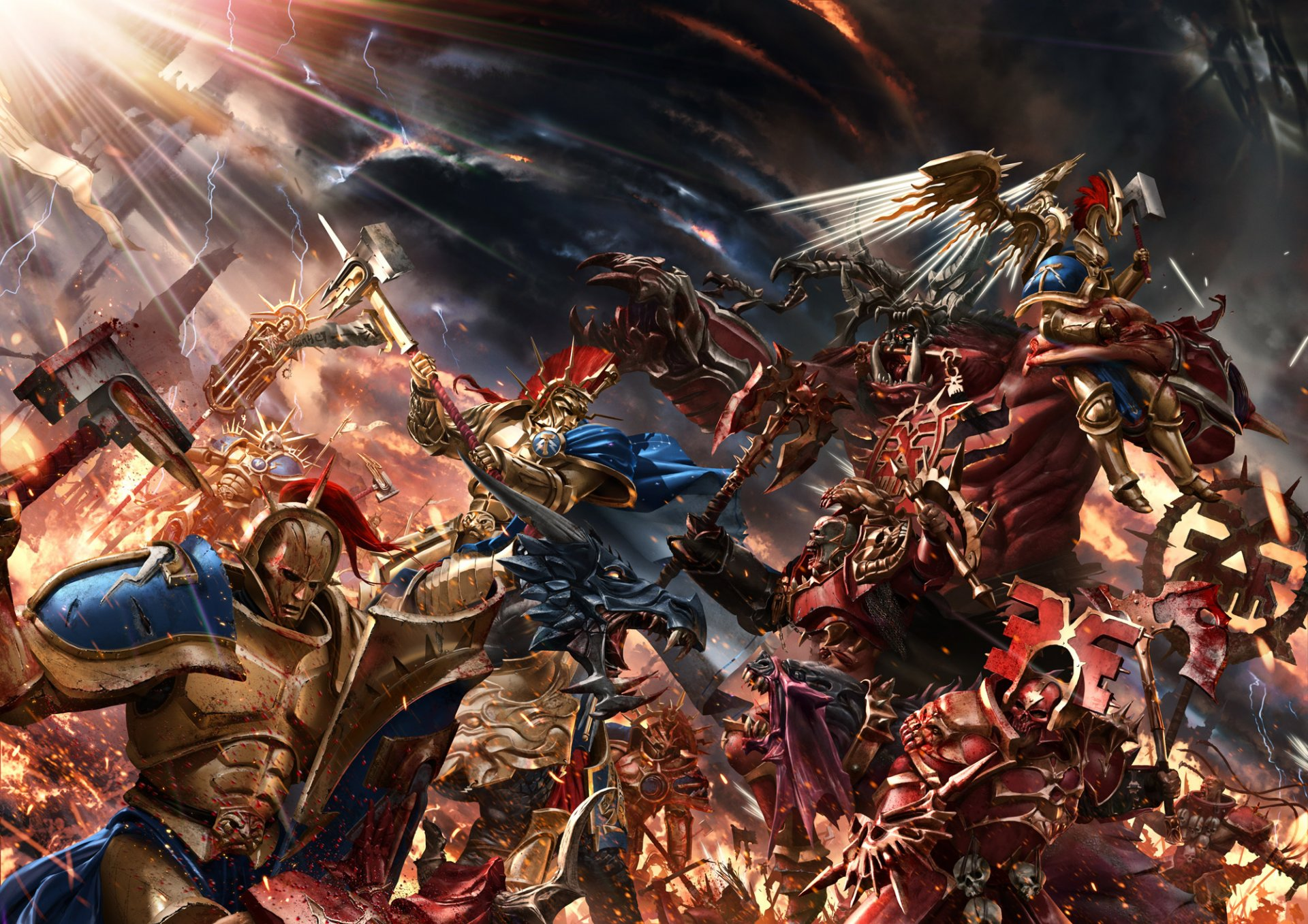 Age of Sigmar, the game of High Fantasy Battles