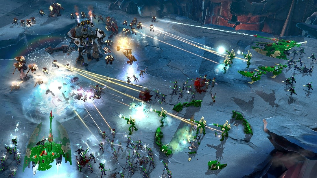 Dawn of War 3 brought back the large scale battles of the first game.