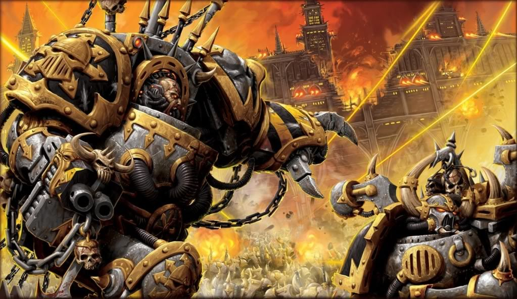 Iron Warriors, masters of siege craft