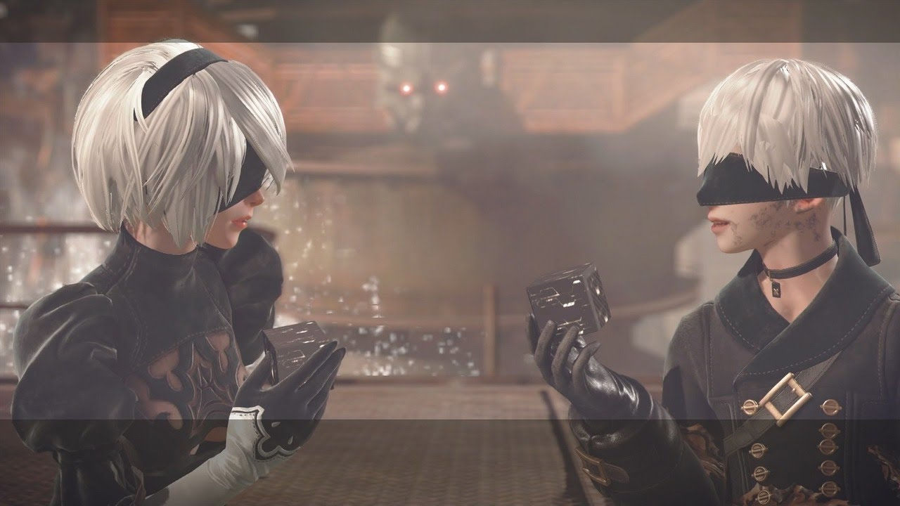 2b and 9s are just two of the playable characters found in the game.