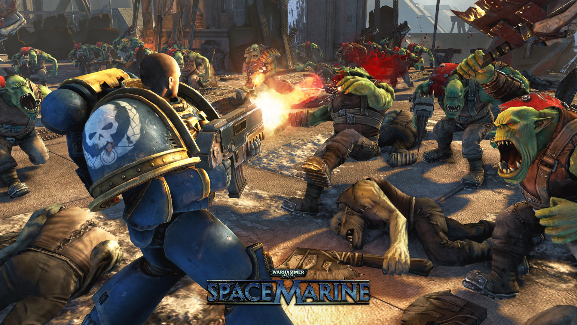 Space Marine, available for PC