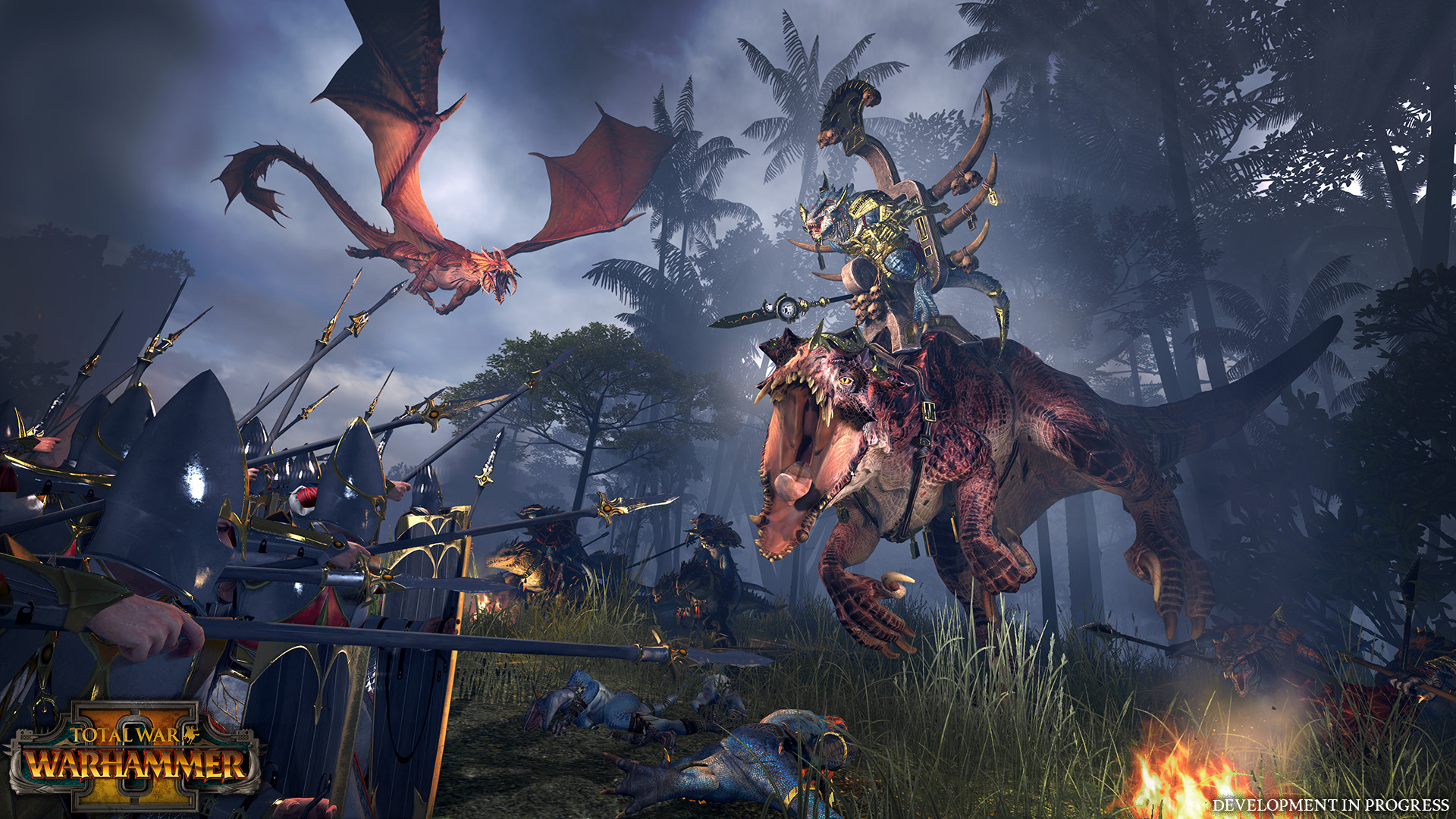 The new game will feature its own collection of monsters and lords