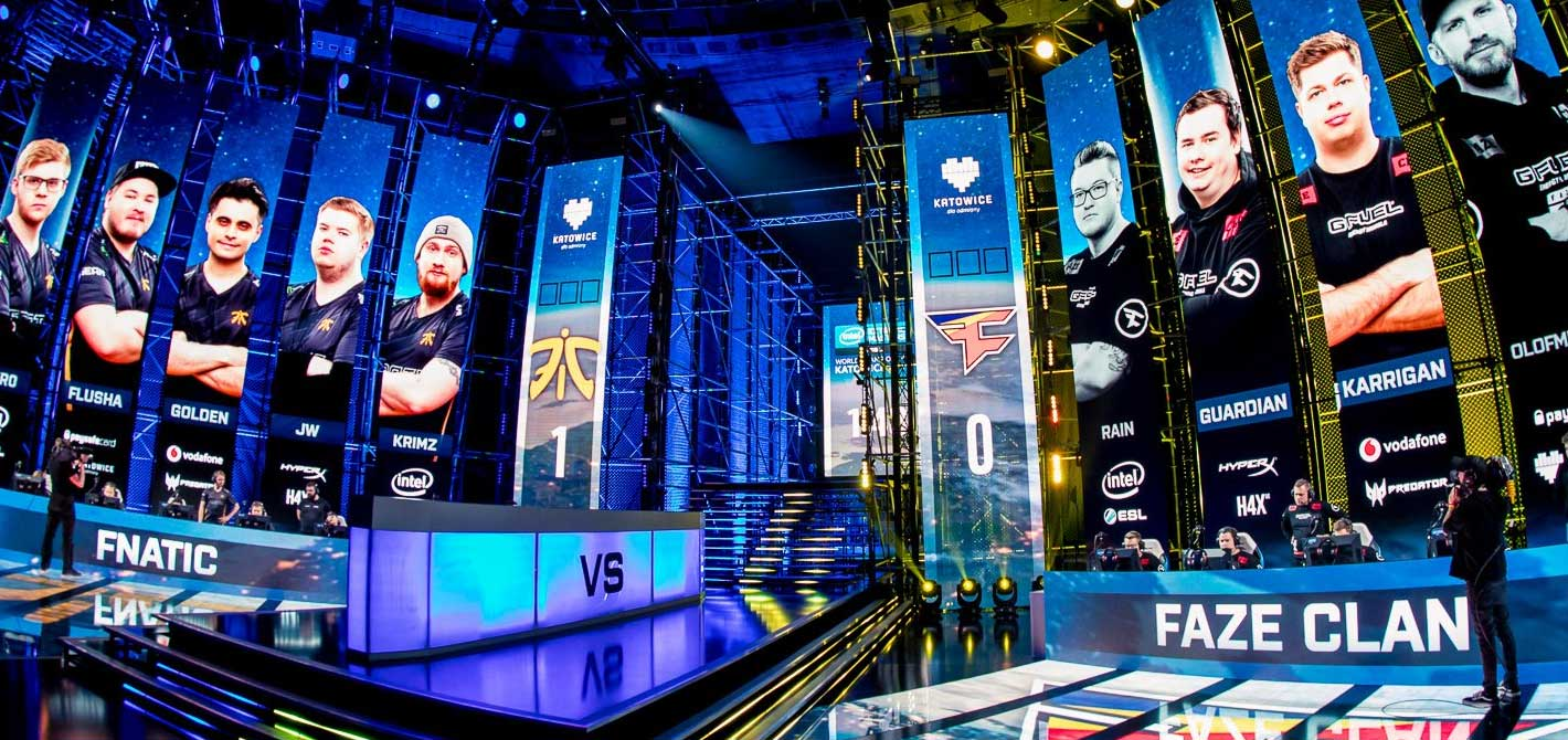 Fnatic and Faze Clan sit at their computers, fighting each-other for the right to be crowned the next IEM Champion.