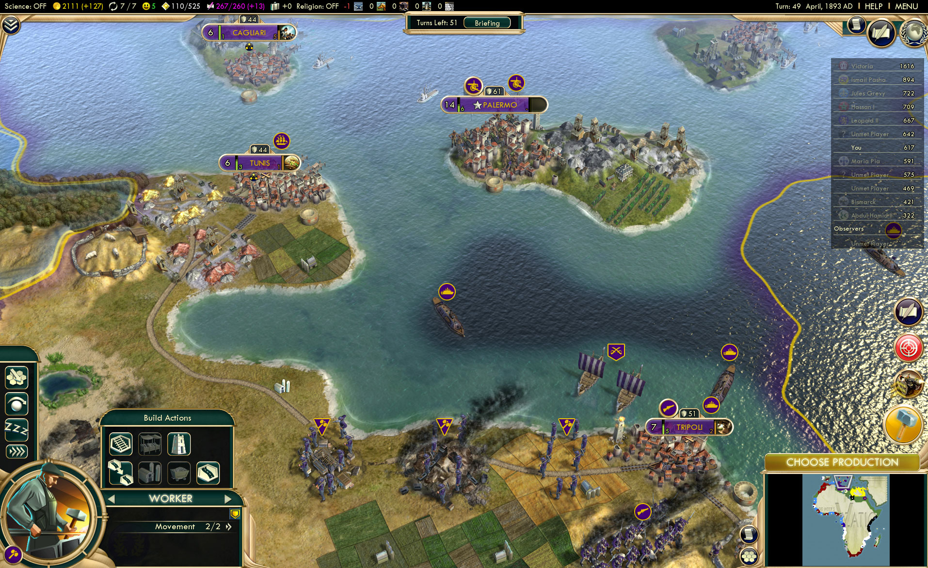 CIV V Gameplay 2
