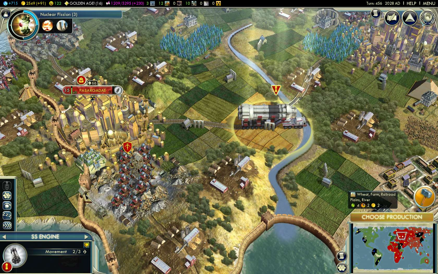 CIV V Gameplay 1