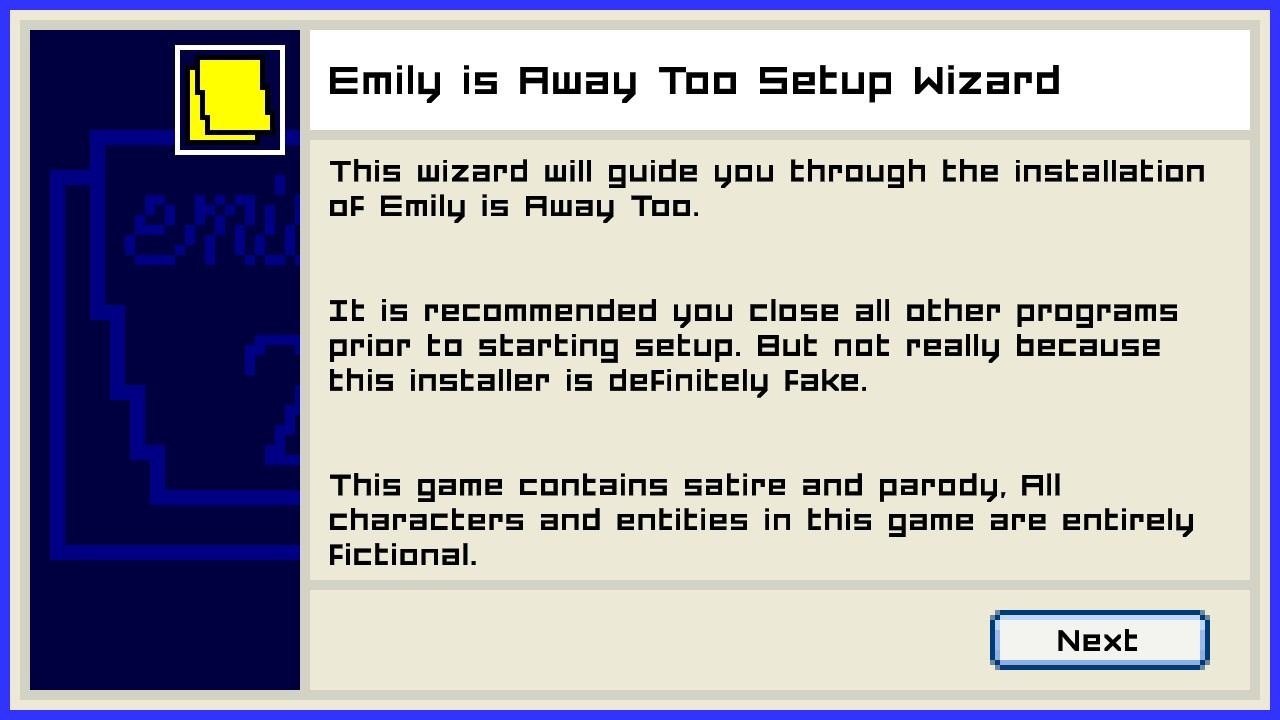 emily is away, emily is away too, best dating sims