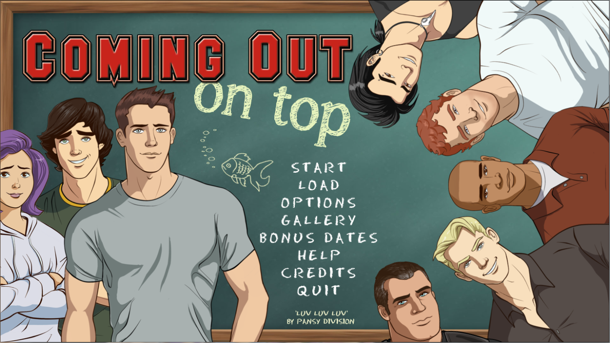 coming out on top, coming out on top visual novel, best dating sims
