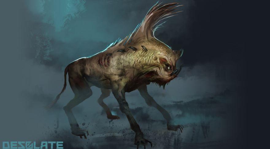 Fan art, monster dog