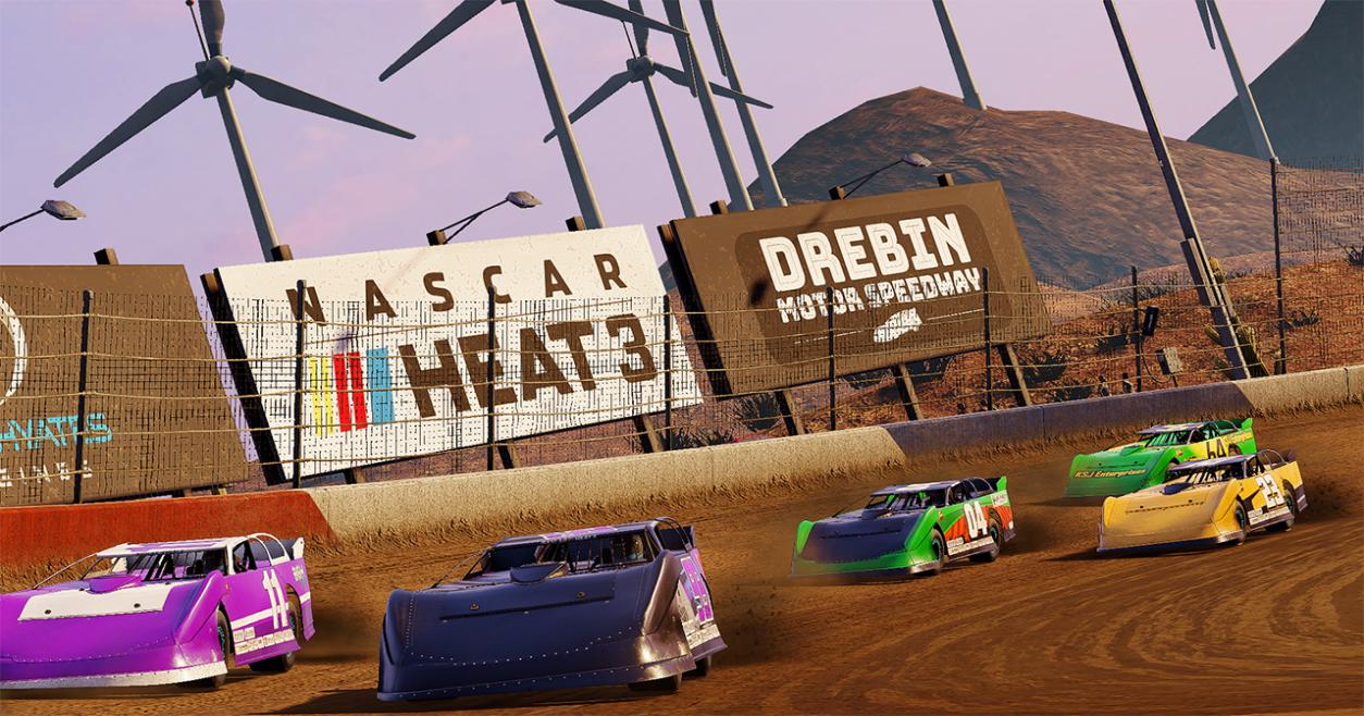 Take on the fantasy Drebin speedway!