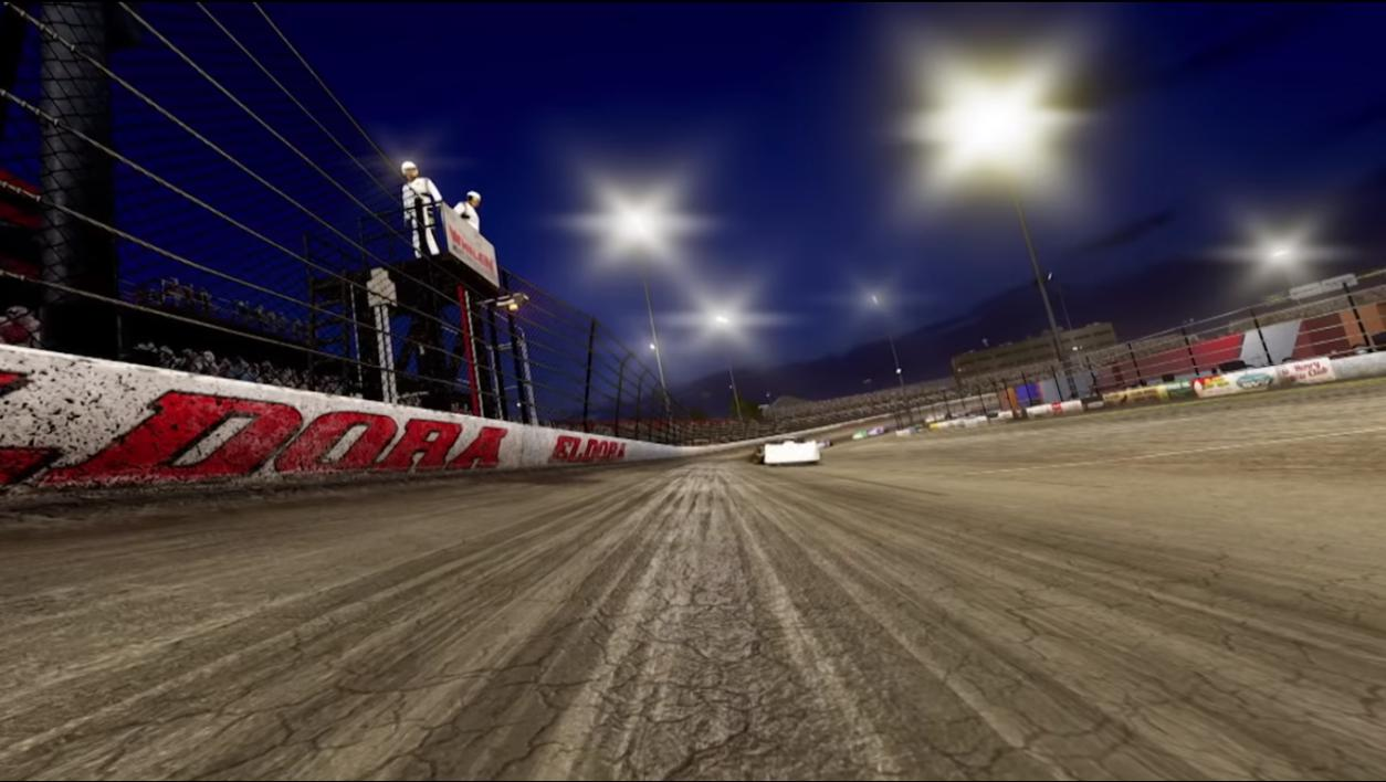 Eldora looks much better in NASCAR Heat 3!