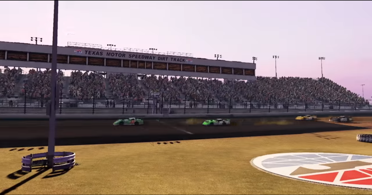 The TMS Dirt track appears as well!