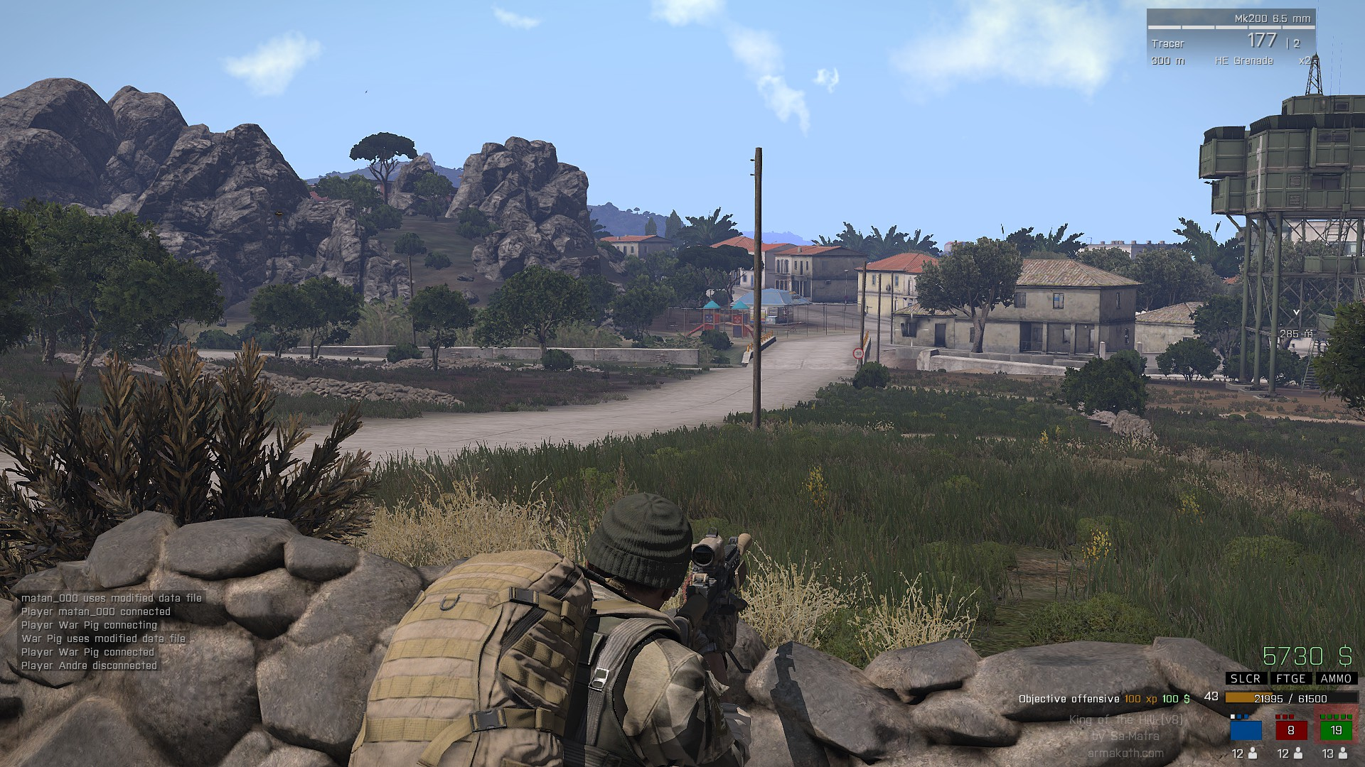 Arma 3 king of the hill modded servers