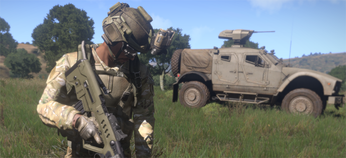 Experience true combat gameplay in a massive military sandbox. Authentic, diverse, open - Arma 3 sends you to war.