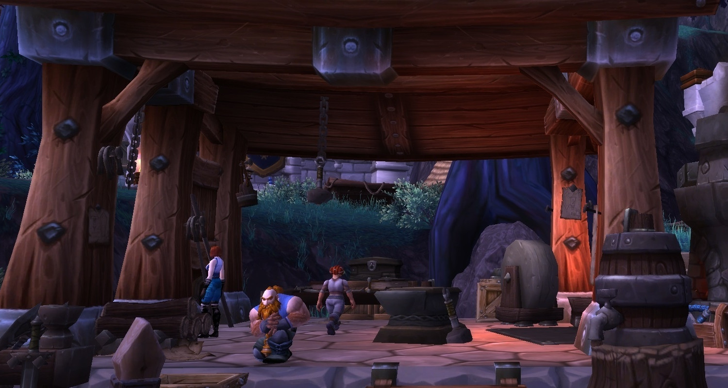 World of Warcraft Blacksmithing