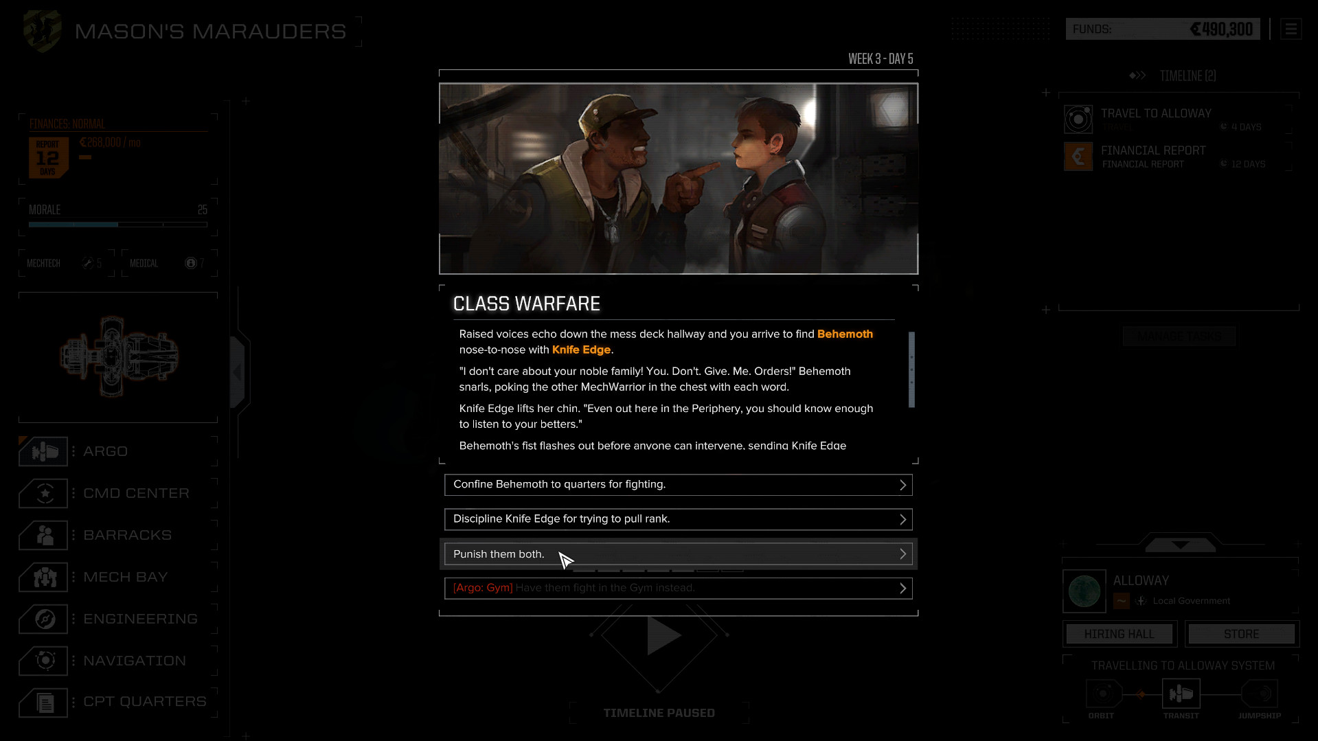 Battletech Dialogue