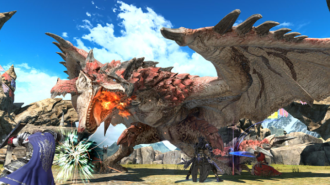 Hunts are an exciting way to face Eorzea's fiercest monsters! You can even face off with Monster Hunter's infamous Rathalos.