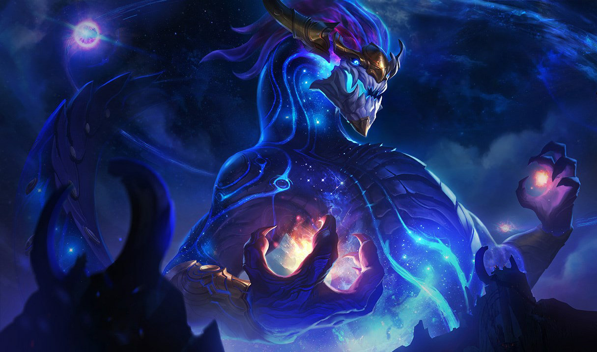 Aurelion Sol, shove and roam
