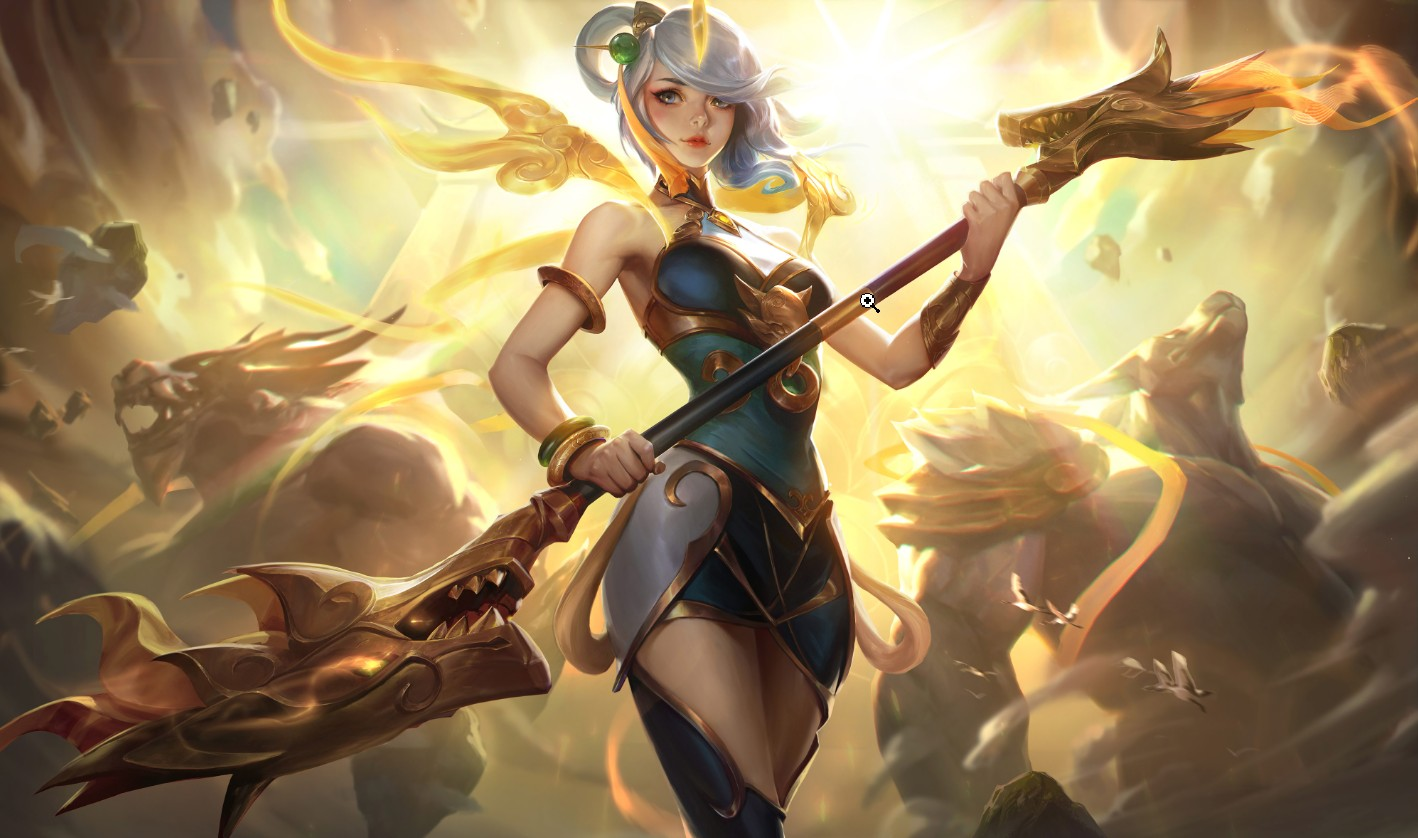 The flashless Lux, and all time favourite target for Azir