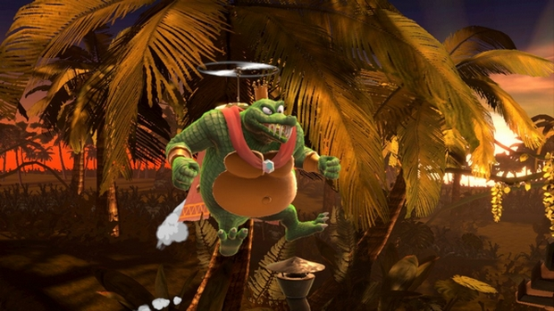 King K. Rool's recovery in Smash Ultimate