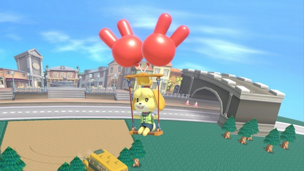 Isabelle's Recovery in Smash Ultimate