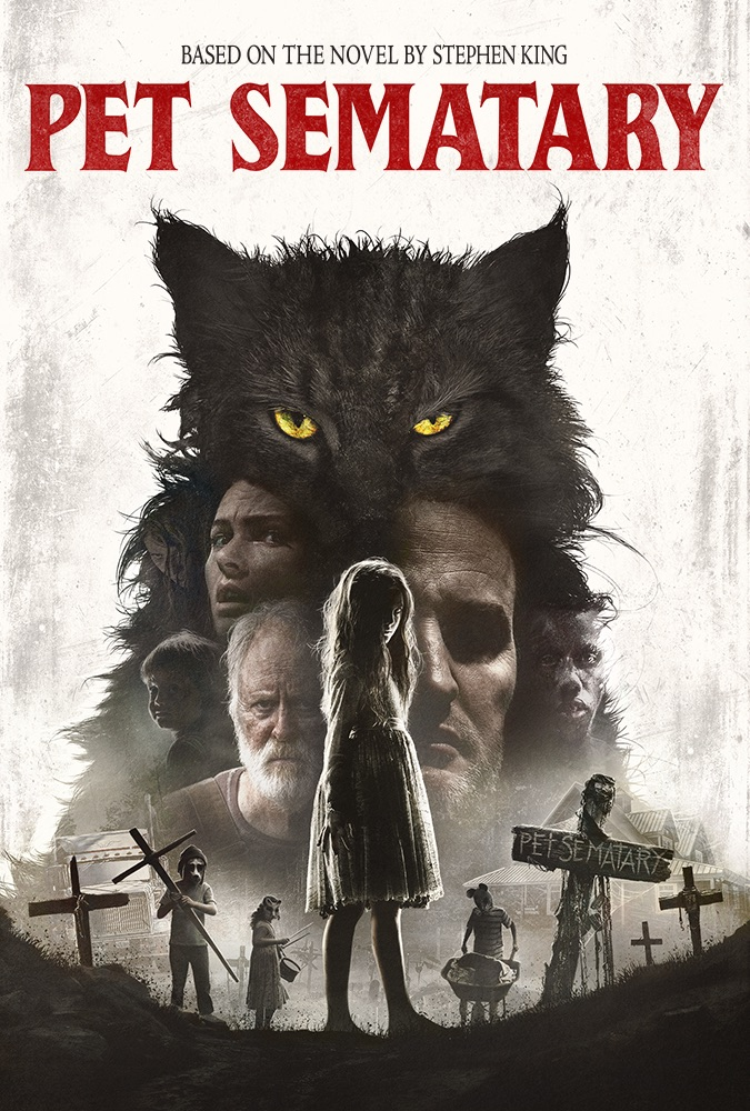 Pet Sematary is an adaptation of Stephen King's popular novel.