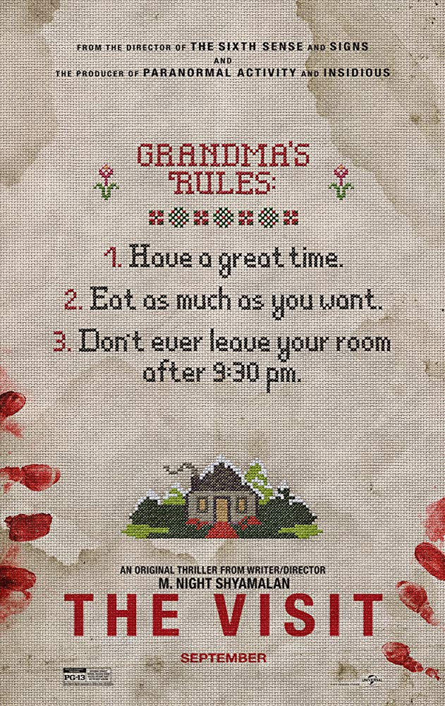 Visiting Grandma never sounded less appealing.