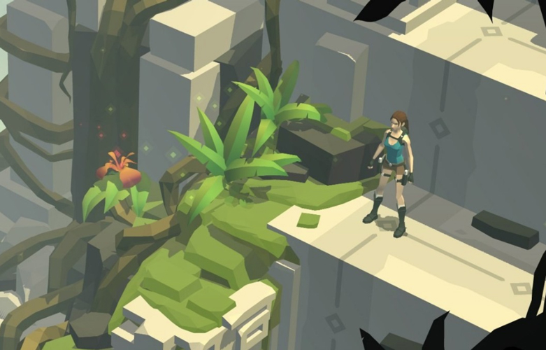 Snake charmer: Lara's puzzling adventure through a beautiful, minimalist game.