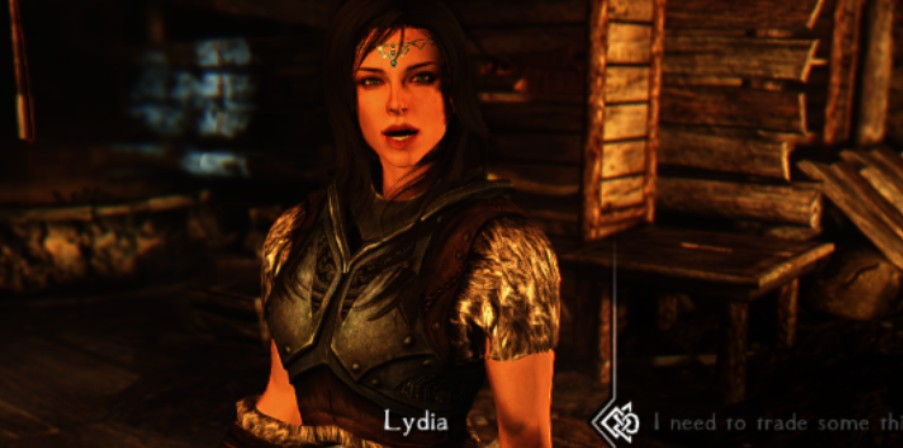 Sometimes, you say things to Lydia, and she can't believe she puts up with you....