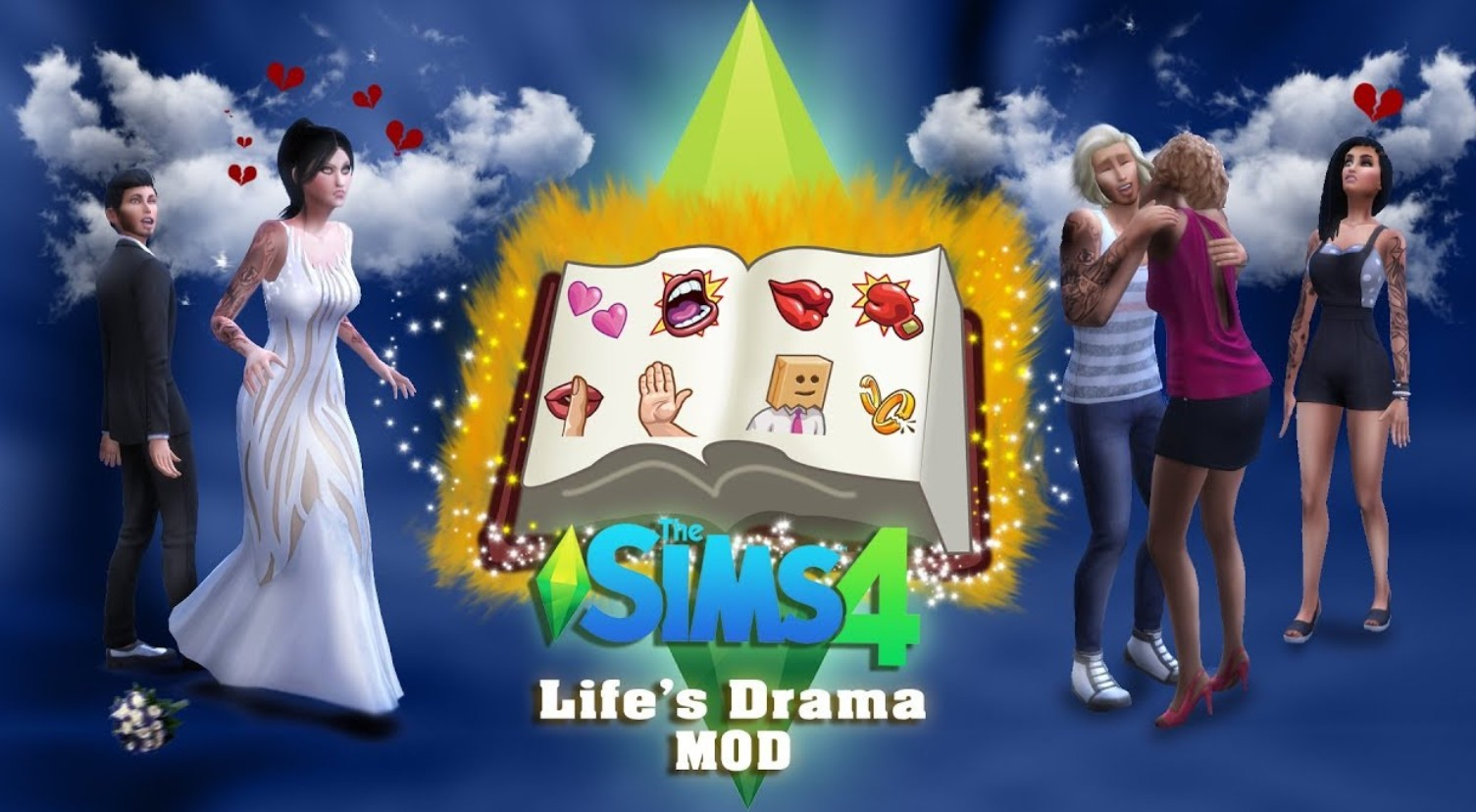 Real life is full of drama, now your sim's life can be too.