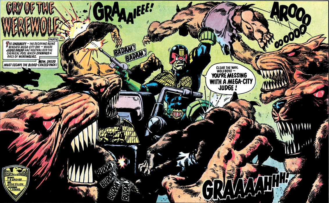 Judge Dredd: Cry of the Werewolf image