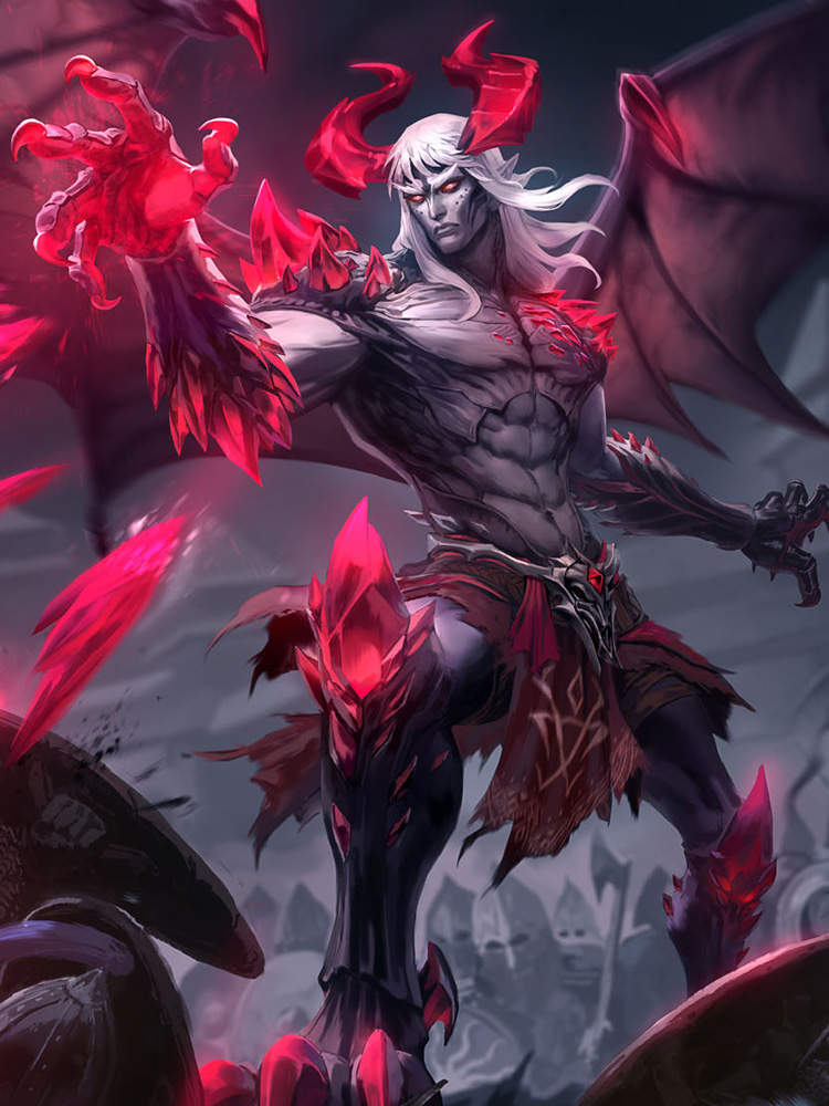 Chernobog's path of destruction is as inevitable as the night itself.