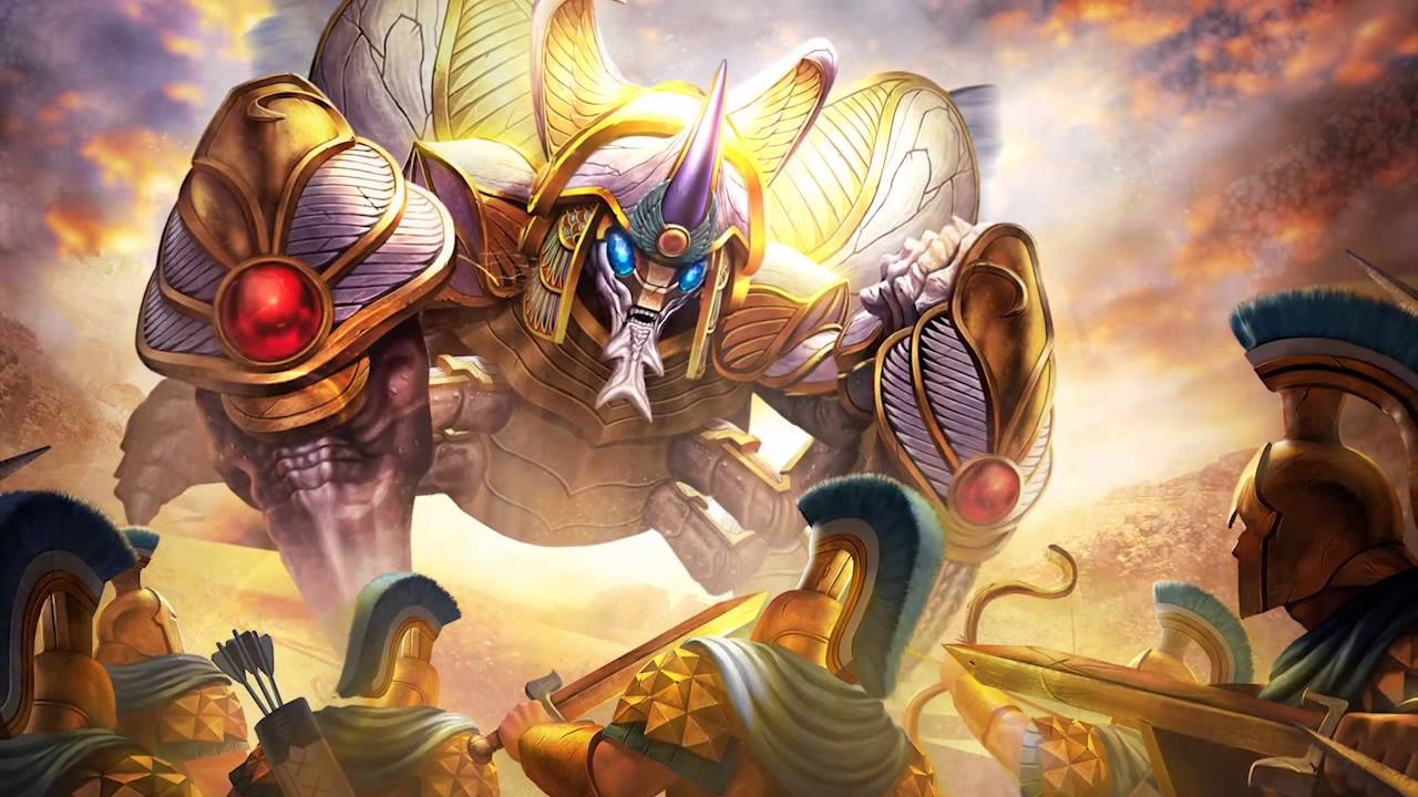 Everyone loves Khepri! Well, except for everyone on the enemy team, that is.