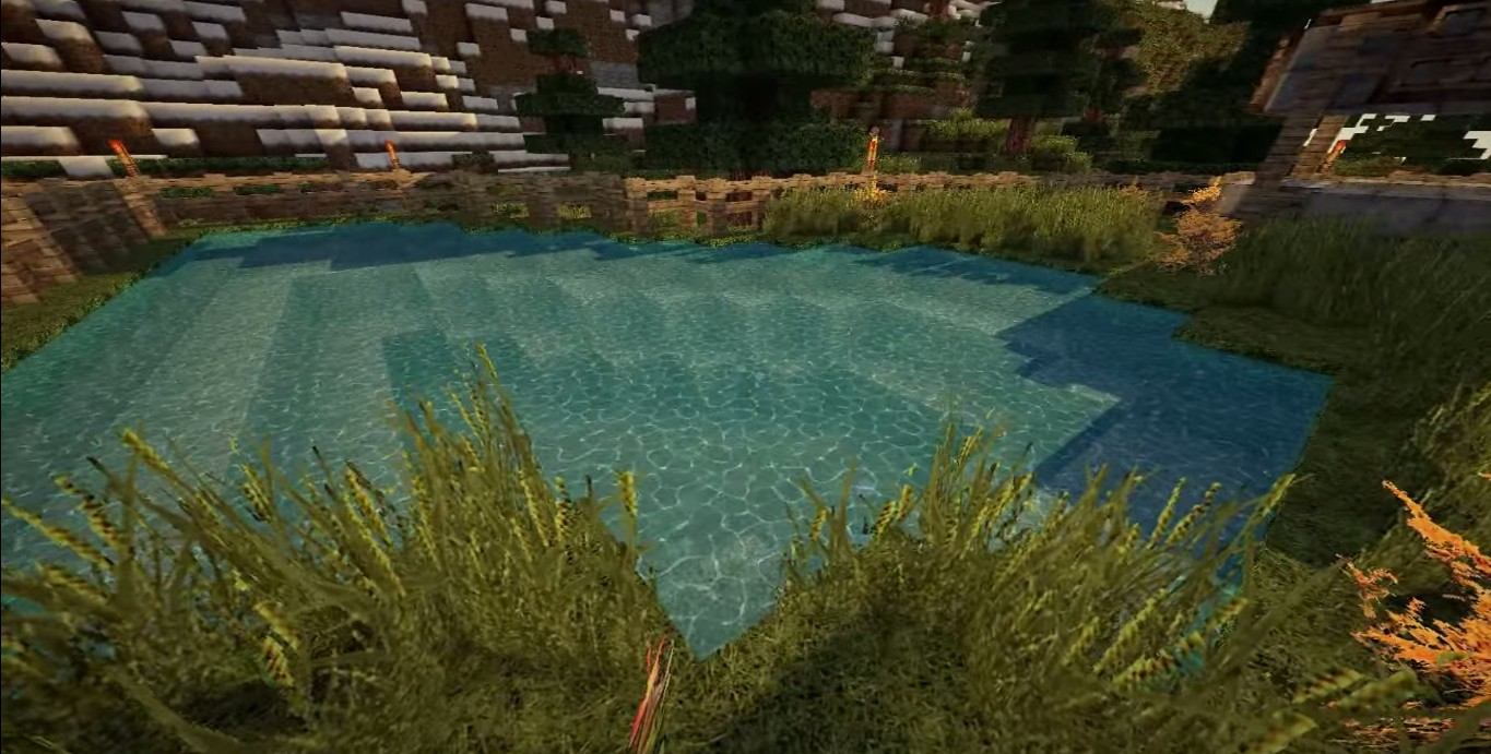 Minecraft now looks more realistic with the Photo-Realism Mod.