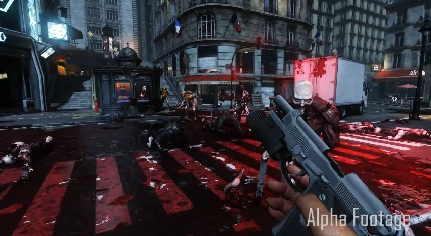 Killing Floor 2, Gorefast, Splatter Map