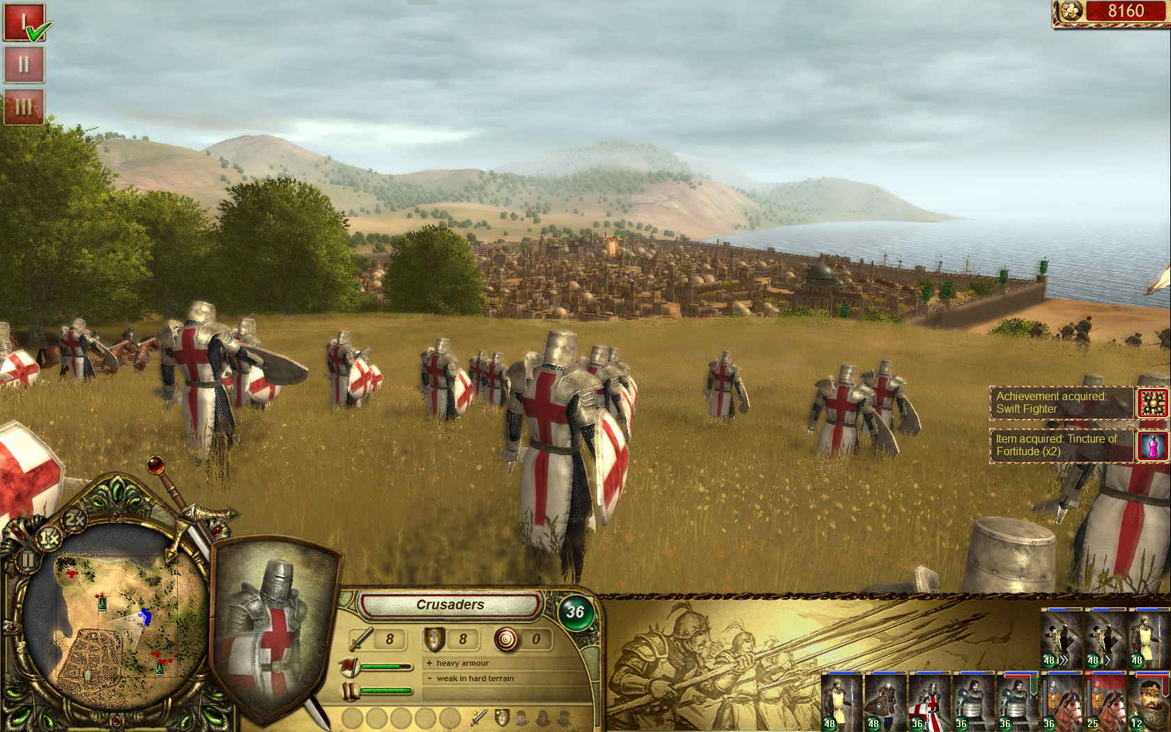 King, Crusade, King's Crusade, Crusader, Templar, Holy War, War, Game, Tactics, Strategy