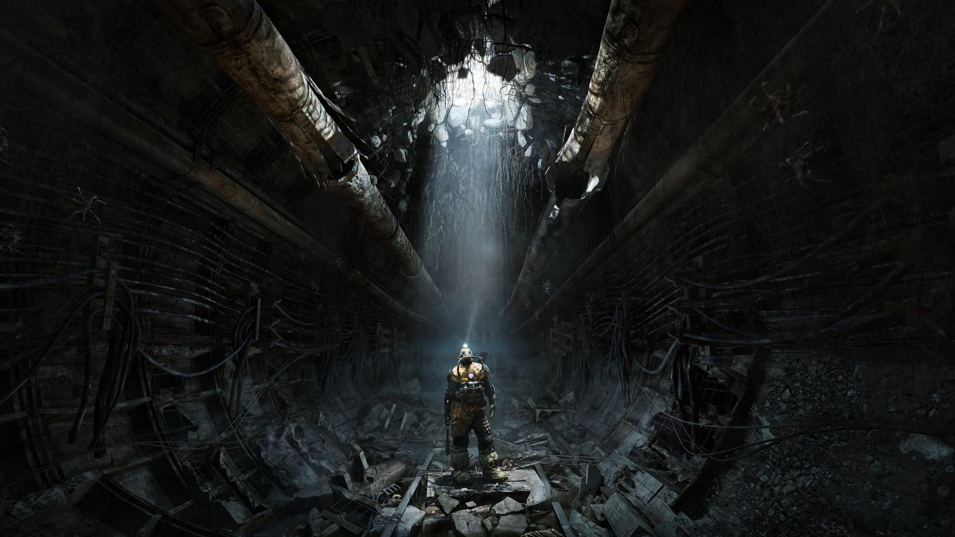 Metro, Last Light, Apocalypse, Post-apocalyptic, Game, FPS, Moscow