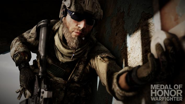 Medal of Honor, Warfighter, Shooter, FPS, Soldier, Beard, Shades, Game
