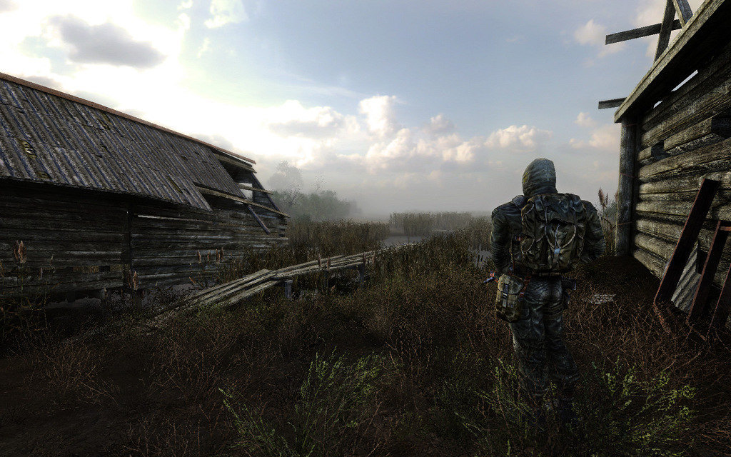 Stalker, Clear Sky, Zone, Post-Apocalyptic, FPS, Game