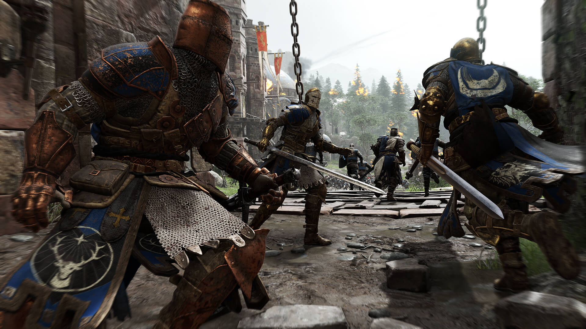Blue knights For Honor